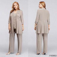 181c153d85260 Popular Chiffon Trouser Suits-Buy Bride Suit