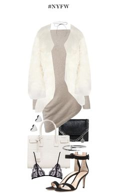 """""""Untitled #20350"""" by florencia95 ❤ liked on Polyvore featuring STELLA McCARTNEY, Ralph Lauren Purple Label, Yves Saint Laurent, Chloé and Gianvito Rossi"""