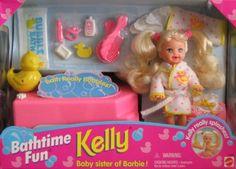 Barbie KELLY Bathtime Fun Set - Kelly Really Splashes! (1995) by Mattel, http://www.amazon.com/dp/B00112WQAS/ref=cm_sw_r_pi_dp_LdFZrb165VEXM