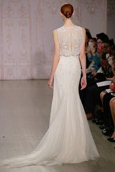 Abiti da sposa Monique Lhuillier al New York Bridal fashion show fall 2015