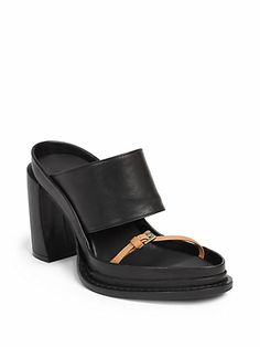 Ann Demeulemeester - Banded Leather Sandals - Saks.com