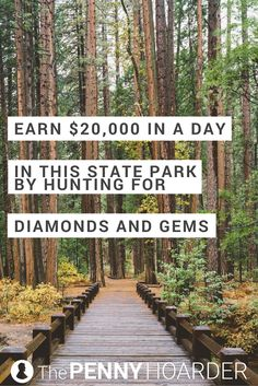 It's definitely not your average state park: Arkansas' Crater of Diamonds State Park is full of diamonds and other semi-precious stones free for the taking. Ready to go gem hunting? Here's how to find diamonds in the park. - The Penny Hoarder http://www.thepennyhoarder.com/crater-of-diamonds-state-park/