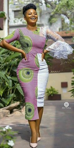 ankara stil Visit the post for more. African Fashion Ankara, African Inspired Fashion, Latest African Fashion Dresses, African Print Dresses, African Print Fashion, African Dress, Fashion Prints, African Prints, Ghanaian Fashion