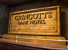 Gringotts Money Exchange « Harry Potter Theme Park – Wizarding World Harry Potter – Orlando – Florida