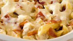 Here's A 'Chicken-Bacon-Ranch Baked Penne' Dish That's Quick… Easy… & Simply Incredible!!