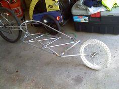 Bike trailer DIY