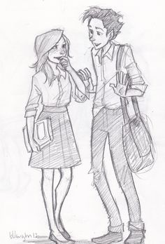 Teddy Lupin and Victorie Weasley