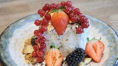 Med tang på isen Oatmeal, Deserts, Breakfast, Food, The Oatmeal, Morning Coffee, Desserts, Meal, Essen