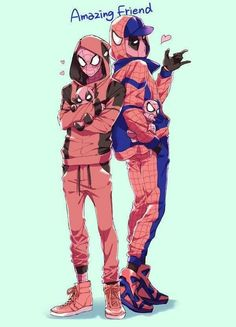 #Spideypool #Spiderman #Deadpool