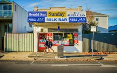A tribute to the country's vanishing independent corner shops. Australian Vintage, Australian Icons, Melbourne, Sydney, 1970s Childhood, Childhood Memories, Shop Facade, Shop Fronts, Model Trains