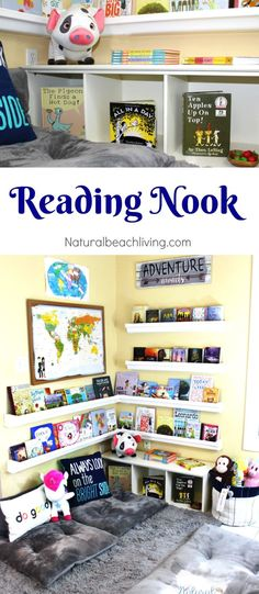 Creating a rain gutter reading nook!