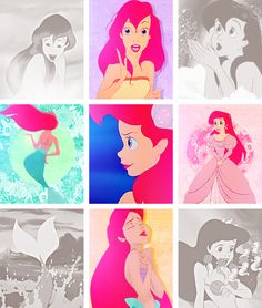 Pin by merbella on disney: ariel Disney Movies To Watch, Disney Songs, Disney Pixar, Disney Characters, Disney Stuff, Cartoon Drawings Of Animals, Cartoon Girl Drawing, Disney Little Mermaids, Ariel The Little Mermaid