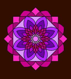 I colored this in Adult Coloring, Coloring Books, Mandela Art, Round Rock, Paint Designs, Sacred Geometry, Namaste, Zentangle, Outdoor Blanket
