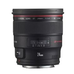 Canon EF 24mm f/1.4 L USM II Wide Angle Lens for Canon Digital SLR Cameras