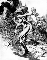 Vampirella - Rudy Nebres Comic Art