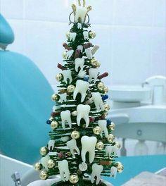 Новогодняя елка #стоматология #dentistry