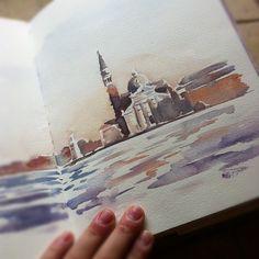 sketchy notions: Terzo goes to Venezia & Bologna, by Chelsea