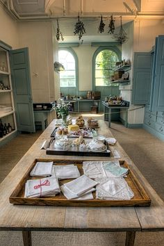Kitchens at Harewood House..Harewood House is a country house located in Harewood near Leeds, West Yorkshire, England. Designed by the architects John Carr and Robert Adam, it was built from 1759 to 1771 for wealthy trader Edwin Lascelles, 1st Baron