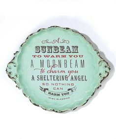 Another great find on #zulily! 'A Sunbeam to Warm You' Wall Décor #zulilyfinds