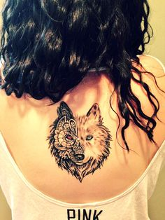 Not only is she a Beauty she is Brave and Loyal #TATTOO #wolfpackwednesday #brave #loyal #Tally