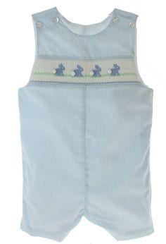 fdd815f7d Infant Boys Blue Smocked Easter Jon Jon Outfit | Petit Bebe, $50.00 (https: