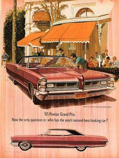 1965 Pontiac Grand Prix Advertisement Life Magazine January 8 1965 | Flickr - Photo Sharing!
