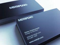 MSTRPLN Business Card 2010