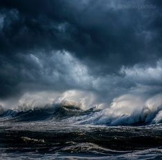 Powerful Ocean Storm Pictures from Dalton Portella