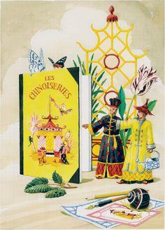 Harrison Howard, Chinoiseries: Bibliophile