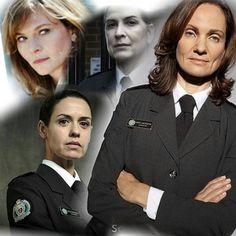 THE GOVERNORS OF WENTWORTH........ Meg Jackson, Erica Davidson, Joan Ferguson, Vera Bennett