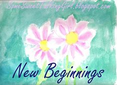Young Women New Beginnings ideas.