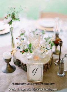 ウェディングテーブル装飾アイデア