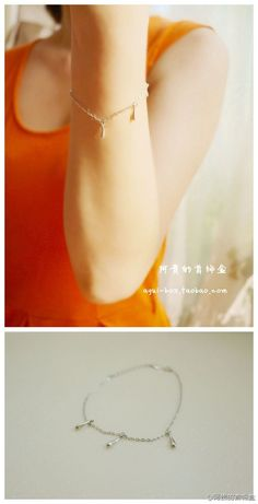 阿贵的首饰盒: #阿贵家每日一款# 一款925纯银的手链,简约而柔美~ 阿贵家现在全场九折,微博粉丝折上折哈~~http://t.cn/zWRwVbd