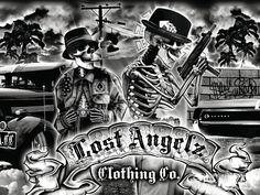 Check out feature artist, Saul Burciaga. A self-taught artist, Saul is the man behind the Lost Angelz Clothing brand. - Lowrider Arte Magazine