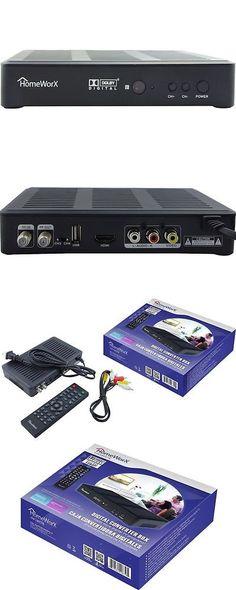 Other TV Video and Audio Accs Mediasonic Hw180stb Homeworx Hdtv Digital Converter Box Hdmi  sc 1 st  Pinterest & Other TV Video and Audio Accs: Xiaomi Box 3C Mi Tv Box ???? 4K ... Aboutintivar.Com