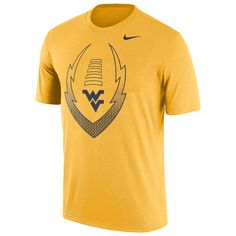 West Virginia Mountaineers Nike Legend Icon Dri-FIT Performance T-Shirt - Gold - $29.99