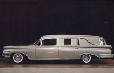 1959 Oldsmobile Hearse from the Comet Coach Company