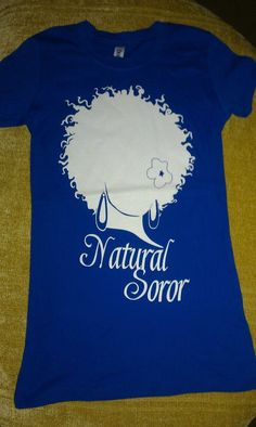 ZETA PHI BETA Natural Soror Shirt Size 2xl by AuNaturelDiva, $20.00