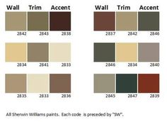 Craftsman House Color Palette find a color for the cabin exterior and interior