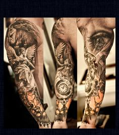 Crazy detail! Really want this sleeve!