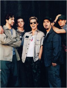 I miss 'NSYNC! I loved them when I was younger, and wish I could go back sometimes!