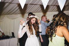Floral crown, flower crown, Katya Katya Shehurina wedding dress, woodland wedding, Scraptoft Hill Farm wedding, Rebecca Goddard Photography plz repin, like or follow!