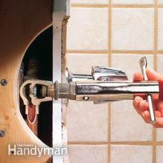 how to repair a leaking tub faucet - Bathroom Faucet Replacement