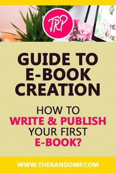 Intending to make your #NaNoWriMo novel an e-book? Here's a guide to all you need to know about #publishing your novel online! #ebook