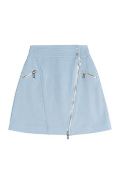 Karl Lagerfeld Cotton Skirt with Zipper Gr. IT 38 | STYLEBOP saved by #ShoppingIS