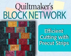 Efficient Cutting with Precut Strips