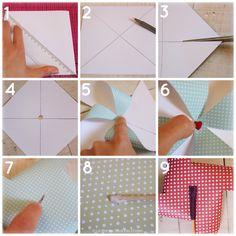{DIY} Fabriquer des moulins à vent version papier   Etape 2 : Géométrie & Assemblage   Tuto Décoration Mariage présenté par La Mariée Sous Les Etoiles