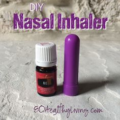 DIY Nasal Inhaler