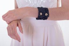Rosi $47 #bracelet #leather #leatherbracelet #fishleather #fashion #jewelry #edgy #minimal