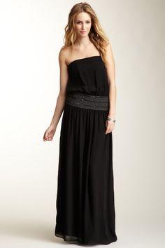 Smocked Lightweight Maxi Dress on HauteLook